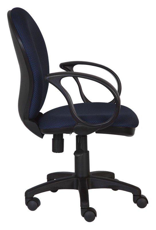 Кресло офисное COLLEGE H-8828F серый ткань сетчатый акрил 120 кг крестовина и подлокотники черный пластик. (ШxГxВ) см  58x52x86-96